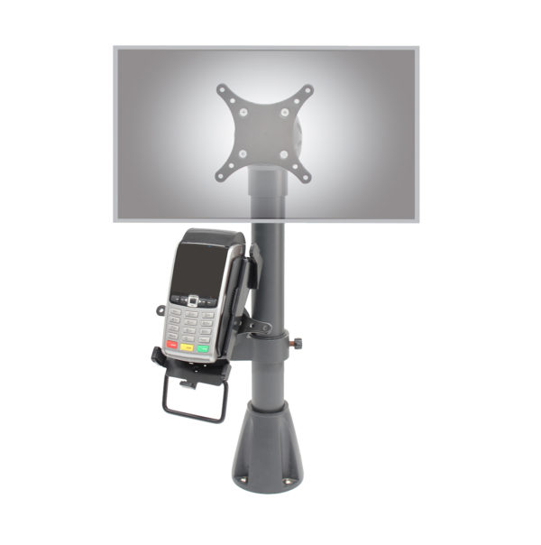 9189 point of sale with 9191 tilter and cradle on devices 2