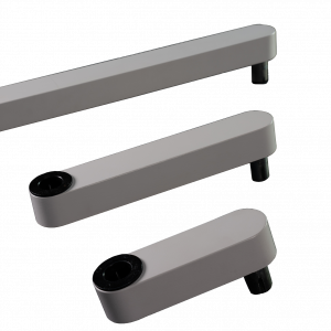 Length Extension arms for 7000 series monitor arm