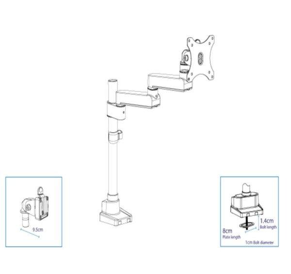 Actiflex II-static-single-mesuarements
