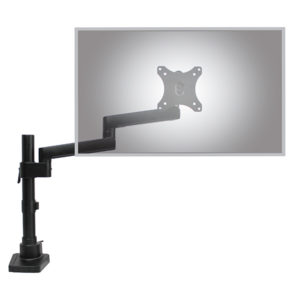 Actiflex II Single Static Monitor arm and mount