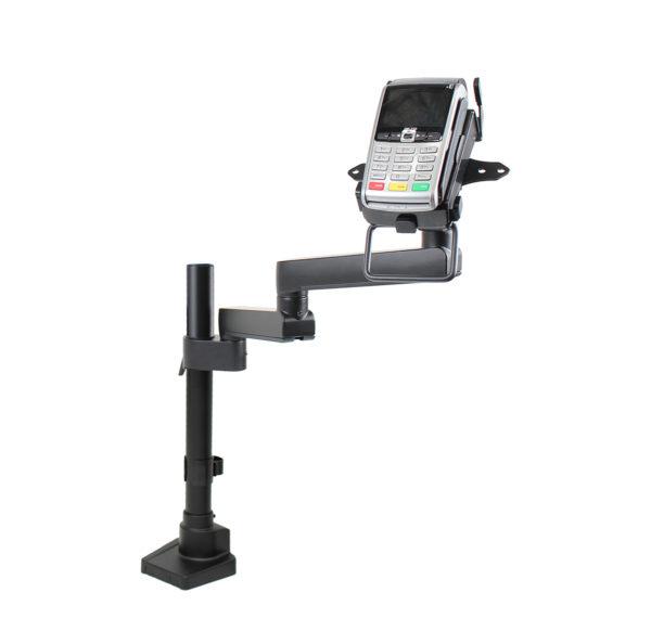 PosFlex Static Single Arm, additional arm and EFTPOS cradle angle