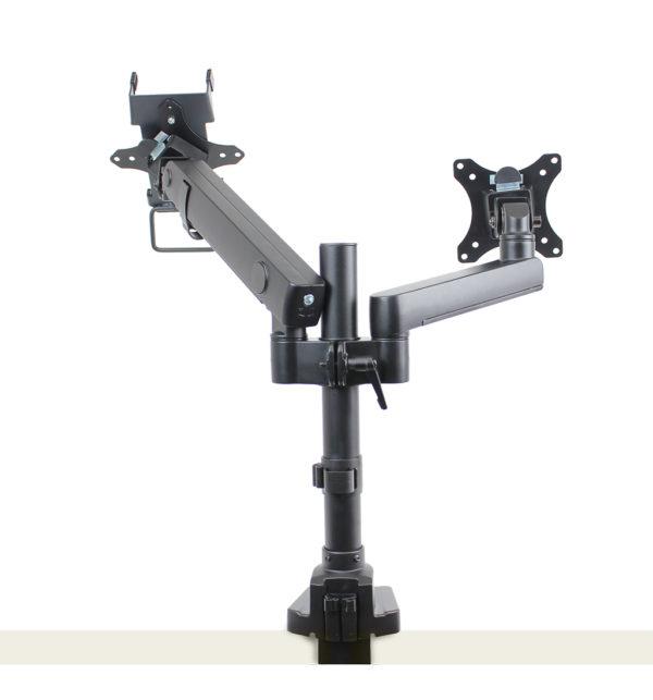 PosFlex Dual Dynamic Arm with VESA and cradle back