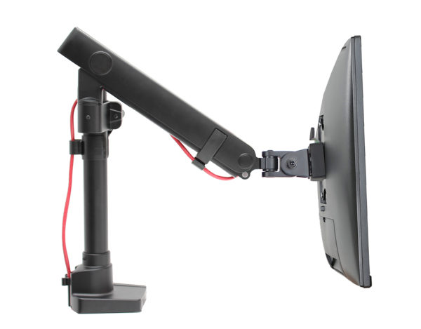 PosFlex Single Dynamic Arm VESA with monitor