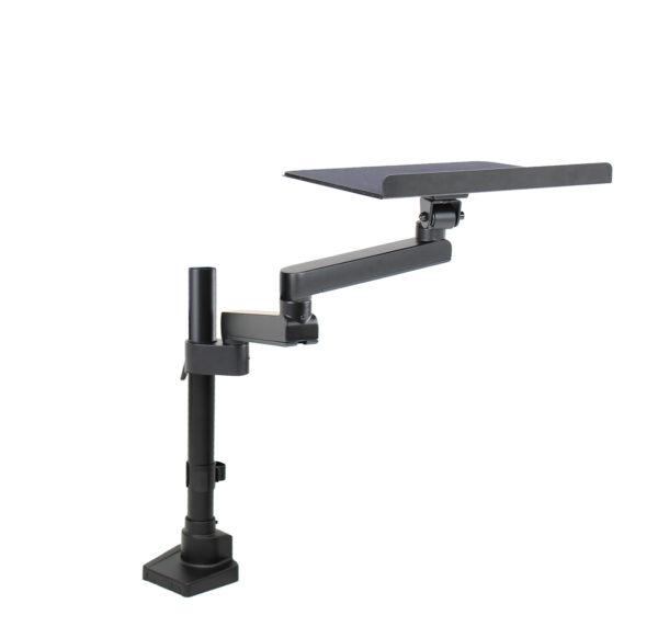 PosFlex Static Single Arm, additional arm and tray angle